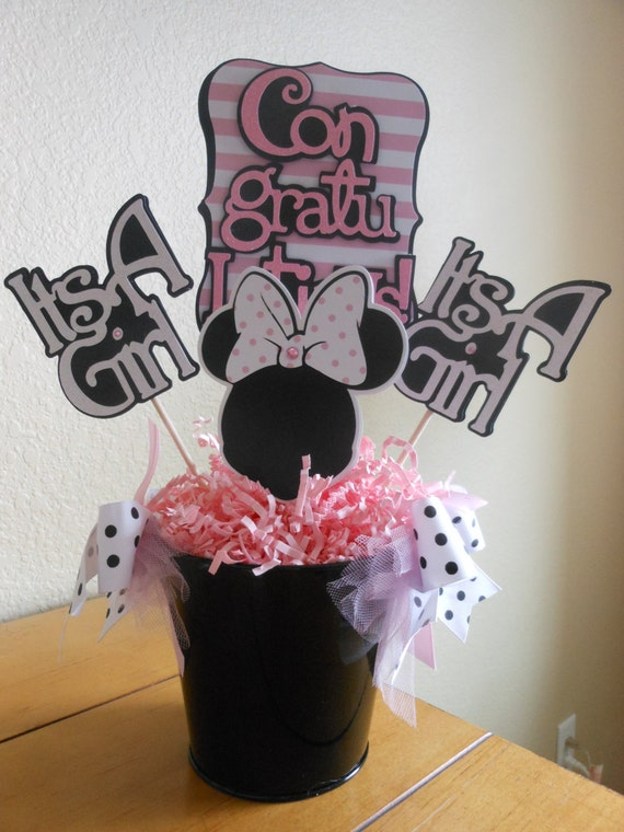 go back gallery for minnie mouse baby shower party favors