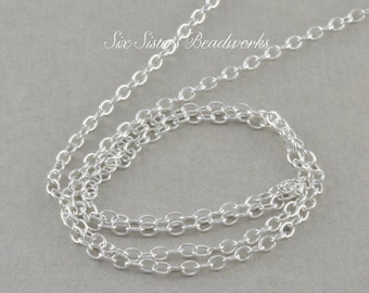 Chain LENGTH Upgrade, Sterling Silver