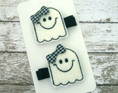 Cute Ghost Felt Hair Clip Set - KristinsKeepsakes
