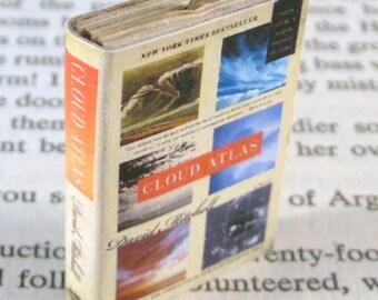 Miniature Classic Novels Book Necklace Charm Cloud Atlas