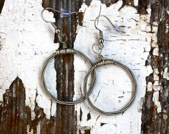 Guitar String Earrings - The MaryJane