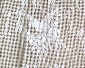 Vintage Lace Yardage in Bird Pattern