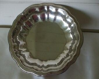 Silver Plate  Bowl, Vintage,   Jewelry,  Flowers,  Fruit , Wedding