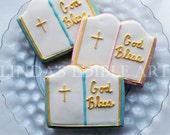 God Bless Bible Cookie (1 Dozen)