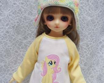 Super Dollfie Yo SD Littlefee Yellow Sweater D - My Little Pony