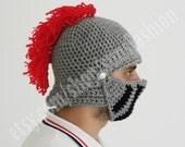 Winter Hats Boyfriend gift Winter hat Knight Helmet Hat Mens hat Brother gift  Crochet bike mask Winter Knit Cap, Mens Knitted Beanie