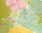 BHKC 4 Vintage baby newborn cardigan knitting pattern (4ply)