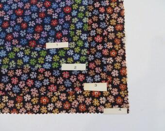 Vintage Fabric / 1920s Fabric 1930s Fabric / 1920s Dress Fabric 1930s Dress Fabric Art Deco Fabric / Silk Fabric / Sample Set