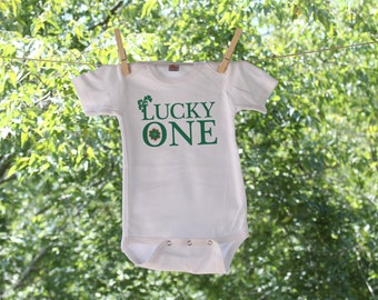 Lucky One Infant Bodysuit  St. Patrick's Day