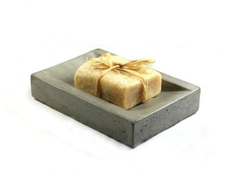SALE: Concrete Soap Dish