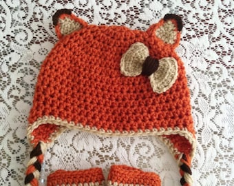 Adult size fox hat