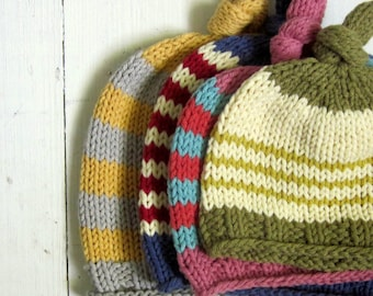 KNITTING PATTERNS, baby hat knitting pattern, PDF instant download pattern,
