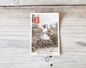 Antique French postcards, Five hand tinted photographs, Early 1900, Handwritten cards, New Year wishes - FrenchFind
