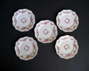 Shabby Chic Dessert Plates