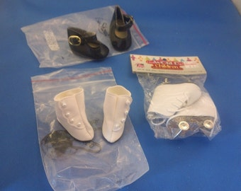 Doll shoes  Assorted sizes and styles