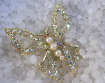Vintage  brooch , Butterfly