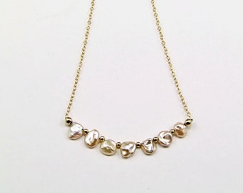 Keishi Pearl Mini Strand Necklace - N513