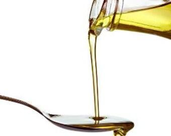 Organic Jojoba Oil, 8oz - Hair Oil, Organic Body Oil, Skin Oil,  Curly Hair, Kinky Curly, Deep Conditioning Treatment, Hair Moisturizer