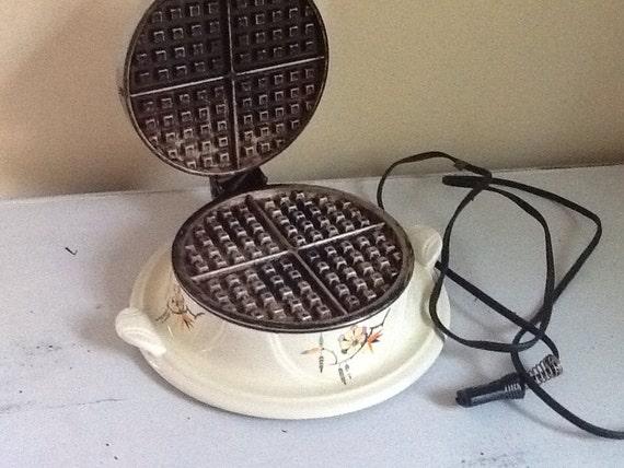 rare vintage waffle iron belgian waffle iron rare vintage waffle iron vintage kitchen vintage ceramic waffle iron