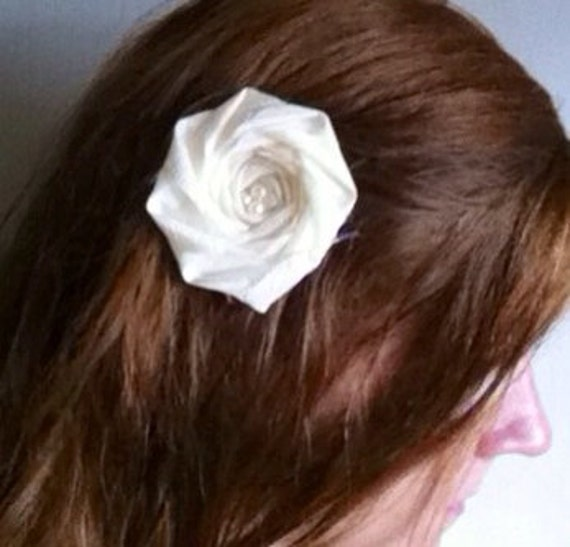 Custom Hair Accessory Bridesmaid Hair Piece Flower Girl Hair Custom boutique Made to Order Hair bow Hair clips pin head band