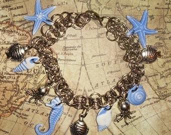 Sea Side Charm Bracelet