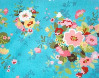 Sophie Chez Moi Nosegay blue moda fabric FQ