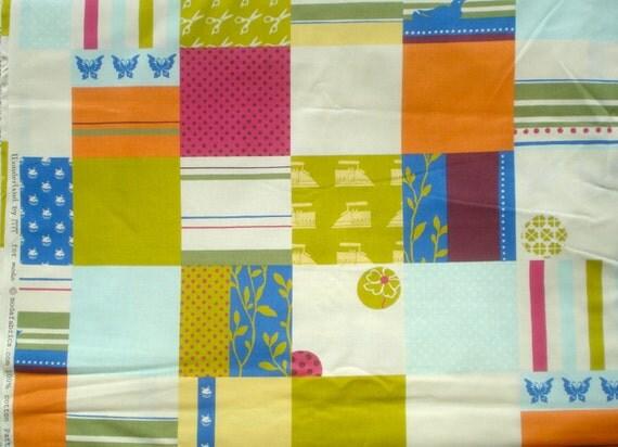 SALE : MoMo Wonderland Mad Hatter pistachio moda fabrics FQ or more