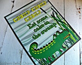 Alligator Gator Party Birthday Printable Party Package - Customized DIY -- SALE!!!