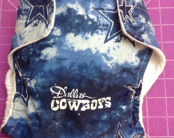 Dallas Cowboys Inspired Cloth Diapers/Diaper Cover