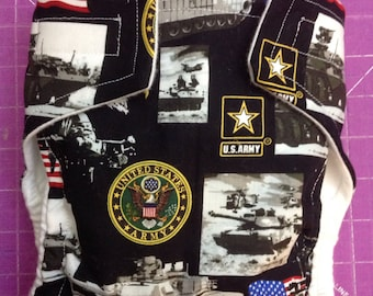 United States Army Inspired Cloth Diapers/Diaper Cover