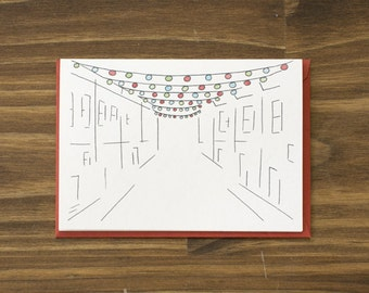 south philly lights holiday card