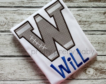 pretty sporty football letter shirt