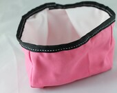 Portable Pet Water or Food Bowl - Pink