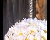 Miniature daisy pomander ball for flower girl