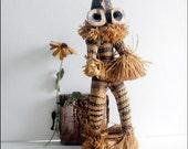 Vintage African Congo Figure Pende Spirit Dancer Native Tribal Art