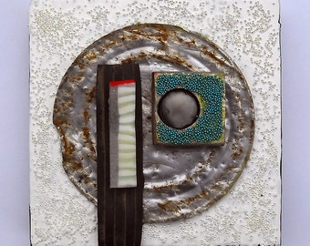 Lid VI: found object assemblage