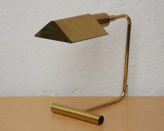 Koch & Lowy Modern Brass Cantilever Desk Lamp #1