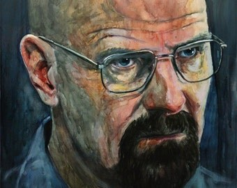 Walter White, Print from Original Painting