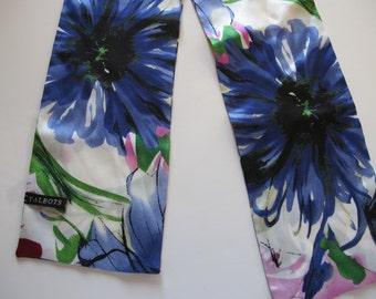 Watercolors Talbots Hairband Silk Scarf
