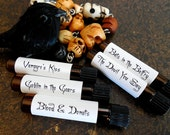 HALLOWEEN Perfume Sampler Set # 2 : Things that Go Bump in the Night, Gothic Perfume