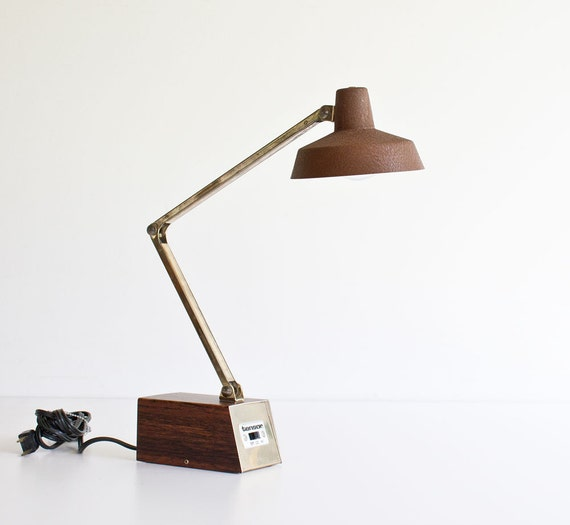 vintage mid century modern tensor desk lamp. Black Bedroom Furniture Sets. Home Design Ideas