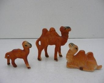 CLEARANCE - Hi Style Bone China Miniature Camel Family by Bridge of Japan