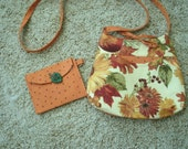 Fall purse and change purse