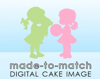 Made-to-Match Digital Cake Image - to coordinate with SSC Card Design