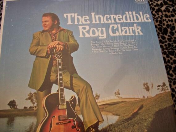 The Incredible Roy Clark Vinyl Lp Record Album By