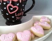 Wedding Decorated Cookies, Wedding Cookie Favor - 2 dozen
