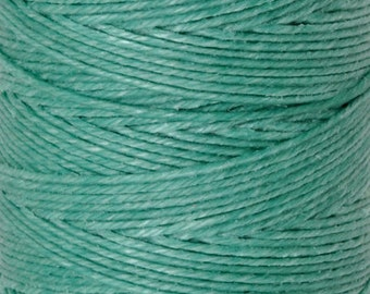 Tools & Supplies-3-Ply Irish Linen Cord-Waxed-Sage-Crawford Threads-Quantity 10 Yards