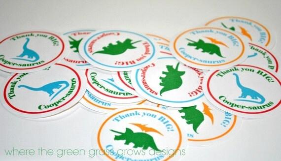 Dinosaur Stickers