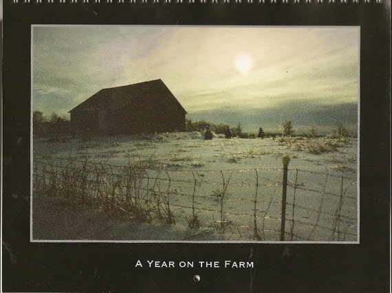 2014 WALL Calendar A Year on the Farm 12 different full color photos FREE SHIPPING
