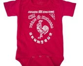 Sriracha Hot Chili Sauce Red Toddler Shirt One Piece BodySuit